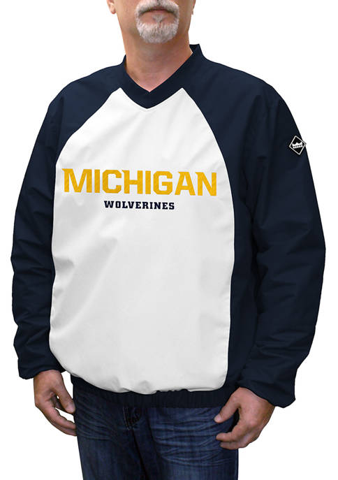 Franchise Club NCAA Michigan Wolverines Game Day Pullover