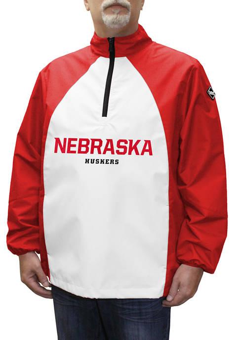 NCAA Nebraska Cornhuskers Game Day Quarter Zip Jacket