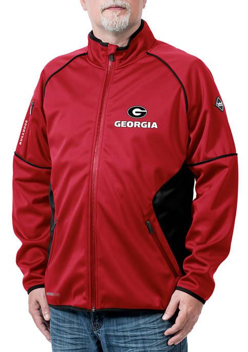 Franchise Club NCAA Georgia Bulldogs Stadium Softshell Jacket