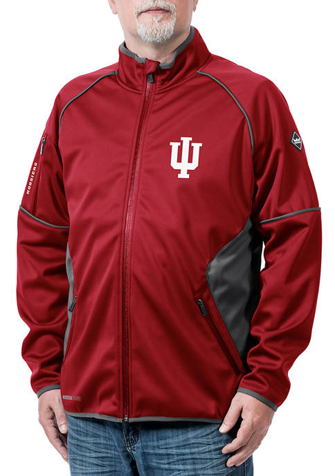 Franchise Club NCAA Indiana Hoosiers Stadium Softshell Jacket