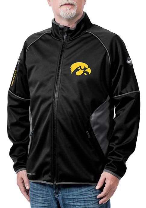 Franchise Club NCAA Iowa Hawkeyes Stadium Softshell Jacket