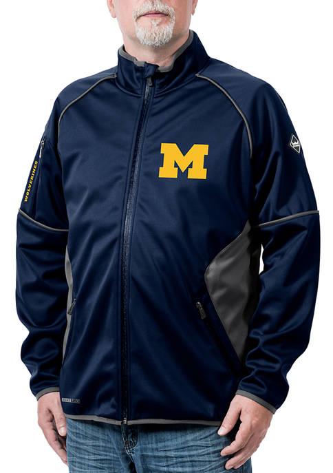 NCAA Michigan Wolverines Stadium Softshell Jacket