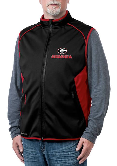 Franchise Club NCAA Georgia Bulldogs Stadium Softshell Vest