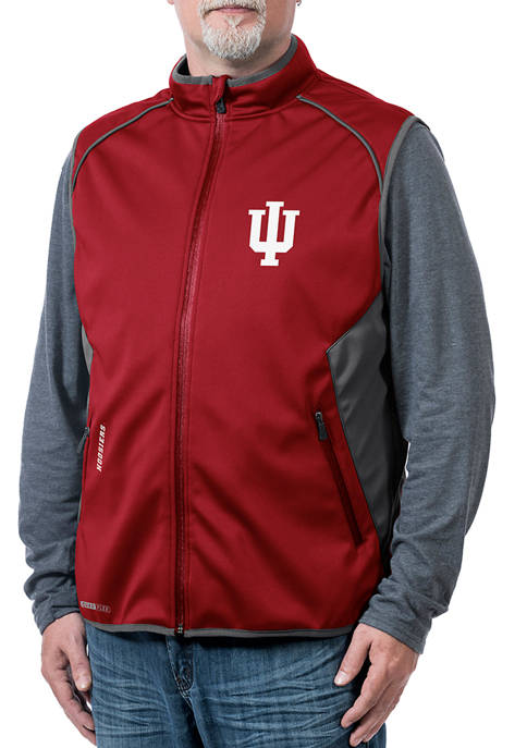 Franchise Club NCAA Indiana Hoosiers Stadium Softshell Vest