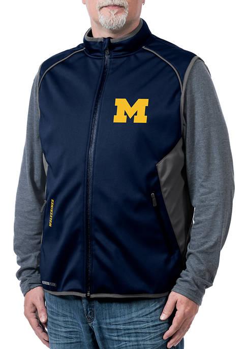 Franchise Club NCAA Michigan Wolverines Stadium Softshell Vest