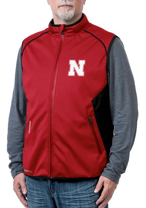 NCAA Nebraska Cornhuskers Stadium Softshell Vest