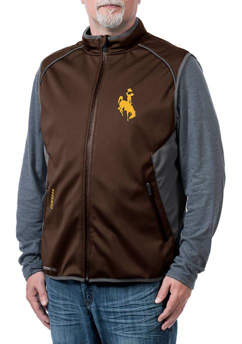 NCAA Wyoming Cowboys Stadium Softshell Vest