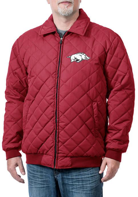 Franchise Club NCAA Arkansas Razorbacks Franchise Clima Jacket