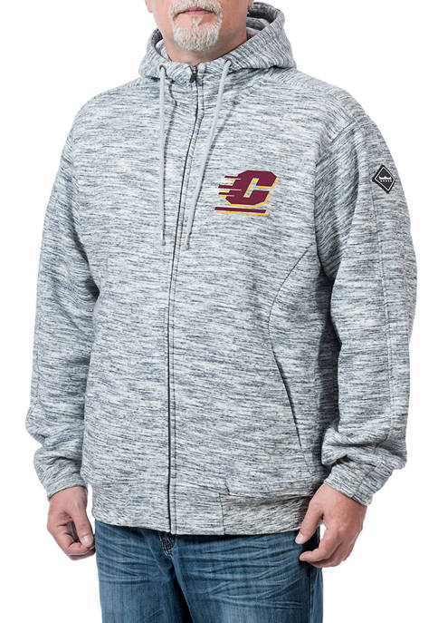 Franchise Club NCAA Central Michigan Chippewas Clutch Fleece