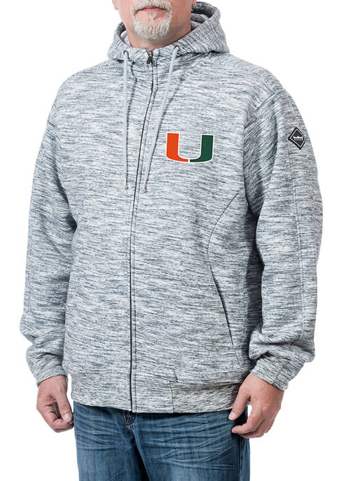 Franchise Club NCAA Miami (FL) Hurricanes Clutch Fleece