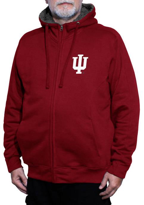 Franchise Club NCAA Indiana Hoosiers Avalanche Fleece Jacket