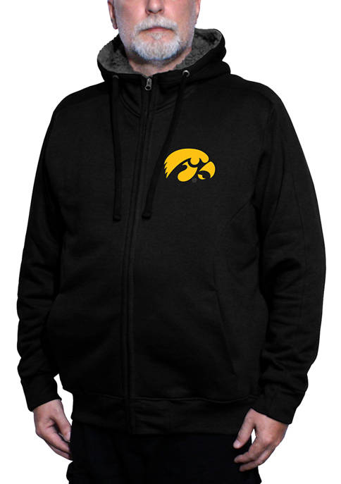 Franchise Club NCAA Iowa Hawkeyes Avalanche Fleece Jacket