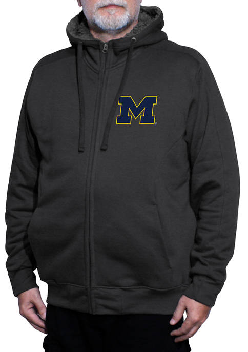 Franchise Club NCAA Michigan Wolverines Avalanche Fleece Jacket