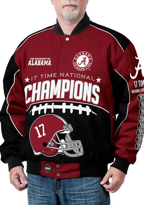 Franchise Club NCAA Alabama Crimson Tide Commemorative Twill