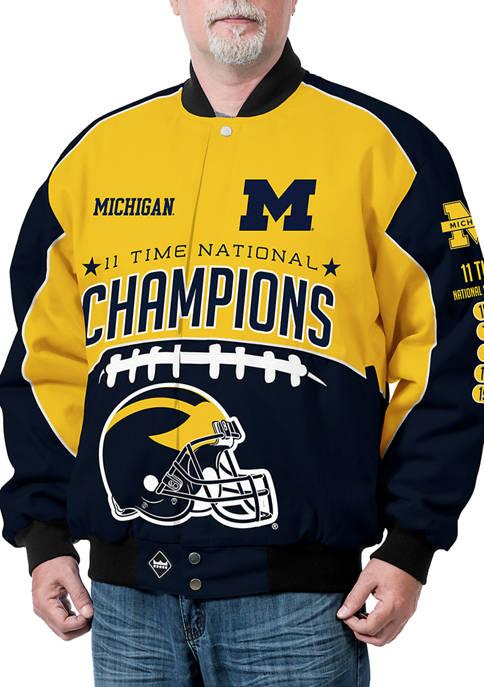 Franchise Club NCAA Michigan Wolverines Commemorative Twill