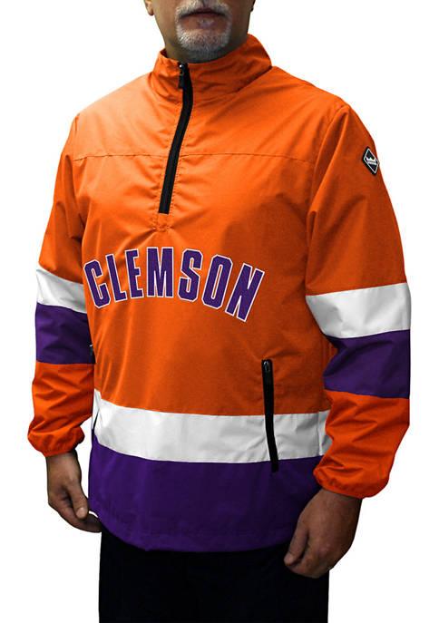 Big & Tall NCAA Clemson Tigers Grind Quarter Zip