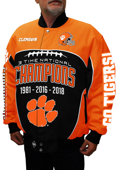 Franchise Club Big & Tall NCAA Clemson Tigers