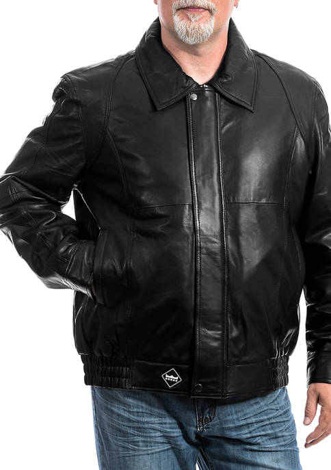 Franchise Club Mens Classic Bomber Jacket