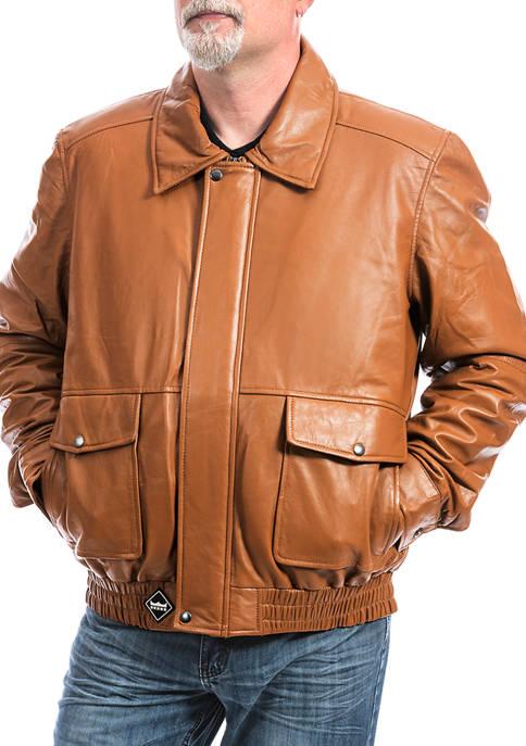 Franchise Club Big & Tall Wings Bomber Jacket