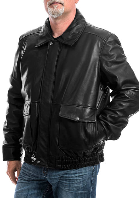 Franchise Club Mens Wings Bomber Jacket
