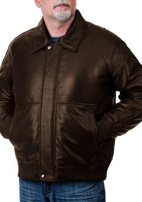 Franchise Club Mens Timeless Bomber Jacket