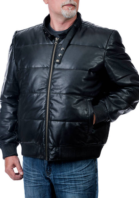 Franchise Club Big & Tall Racer Bomber Jacket