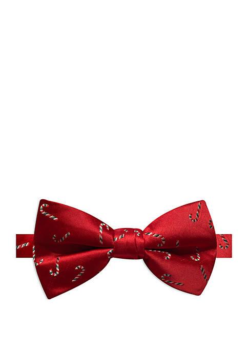 Joyland Candy Cane Bow Tie