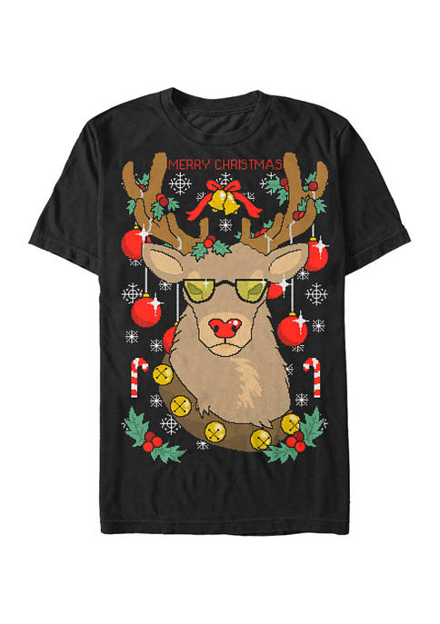 Lost Gods Witty Holiday Graphic T-Shirt