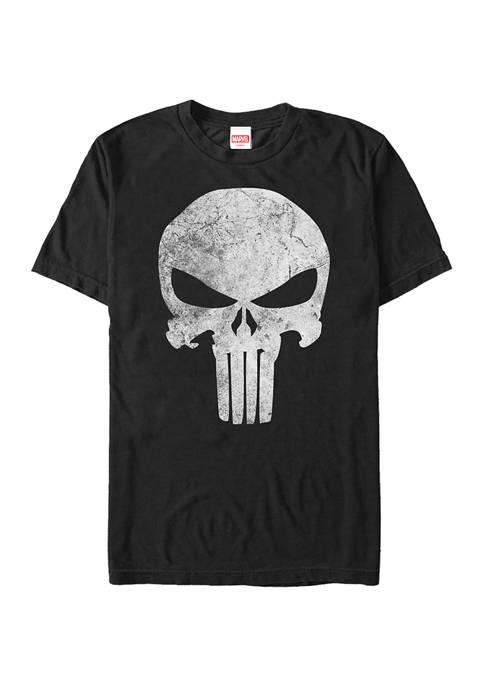 Marvel Punisher Distressed Skull T-Shirt