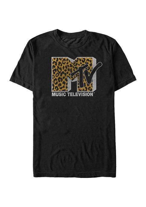 MTV Cheeta Logo T-Shirt