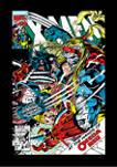 Marvel Red Poster T-Shirt