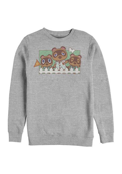 Nintendo Nook Family Crew Neck Fleece Sweater
