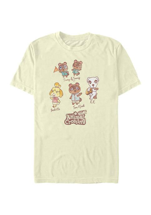 Nintendo Character Textbook T-Shirt