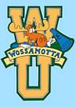 Rocky & Bullwinkle Wossamottta Letters T-Shirt
