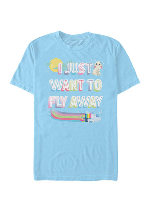 Over the Moon Fly Away T-Shirt