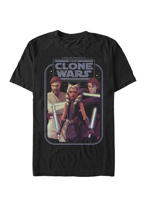 Clone Wars Hero Group Shot T-Shirt
