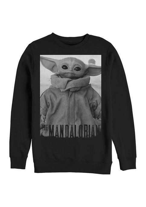 Star Wars The Mandalorian Only One Fleece Crew Sweater