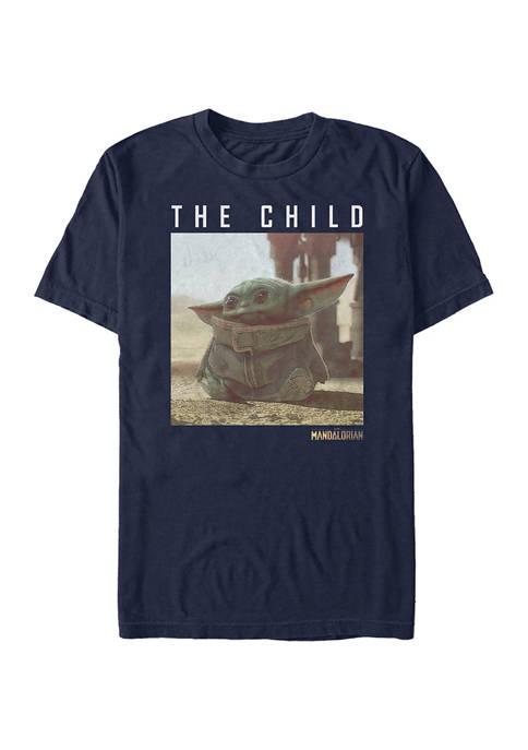 Juniors Green Child Graphic T-Shirt