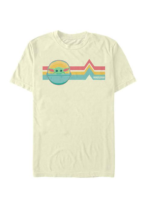 Star Wars The Mandalorian Rainbow Child T-Shirt