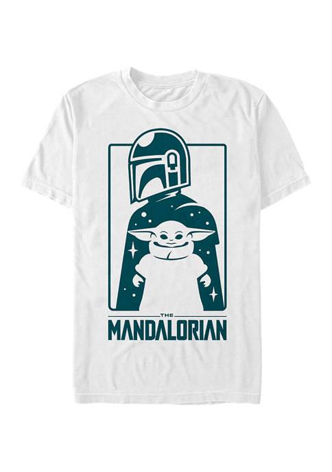Fifth Sun™ Star Wars The Mandalorian Cute Silhouette