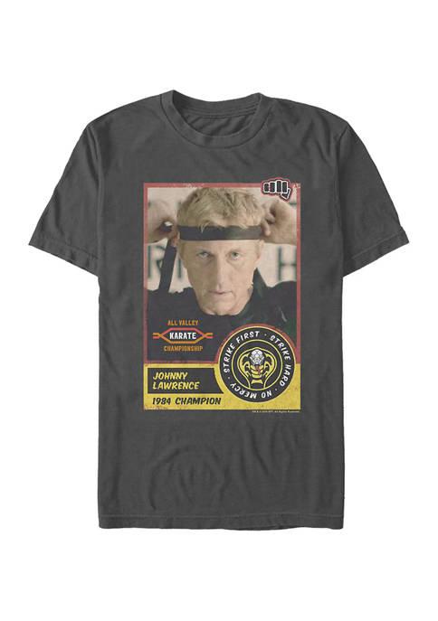 Cobra Kai Player Card T-Shirt