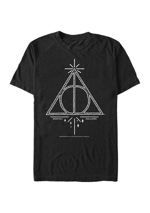 Harry Potter Deathly Hallows Line Symbol T-Shirt