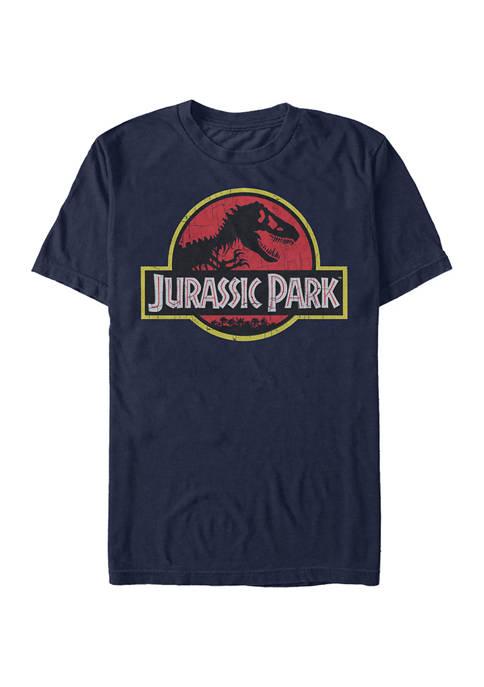 Jurassic Park Logo Graphic T-Shirt