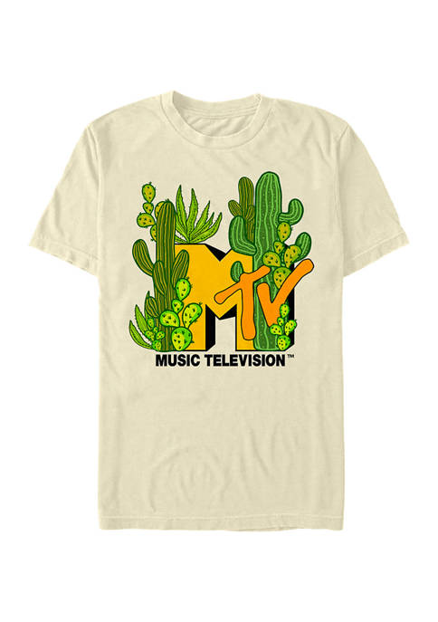 MTV Cacti Galore Graphic T-Shirt