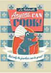 Ratatouille Cookbook Graphic T-Shirt