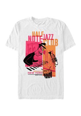 Disney Pixar Mens Soul Brooklyn Jazz Graphic T-Shirt