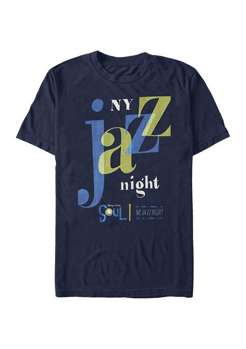 Soul NY Jazz Night Graphic T-Shirt