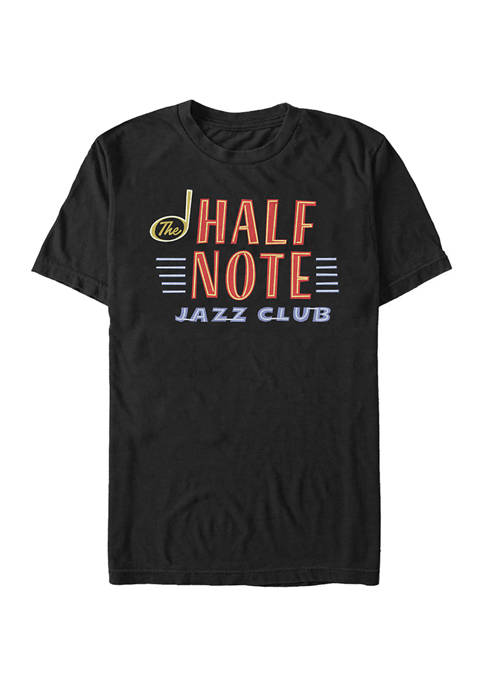 Soul Half Note Neon Graphic T-Shirt