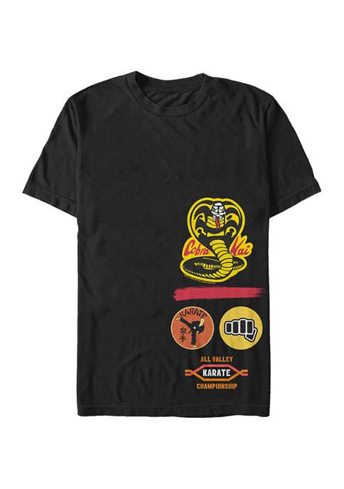 Cobra Kai Gym Logo Graphic T-Shirt