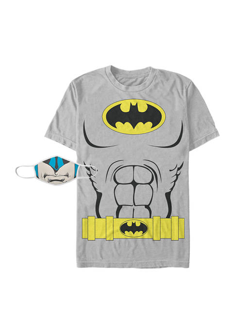 Costume Combo Graphic T-Shirt and Mask